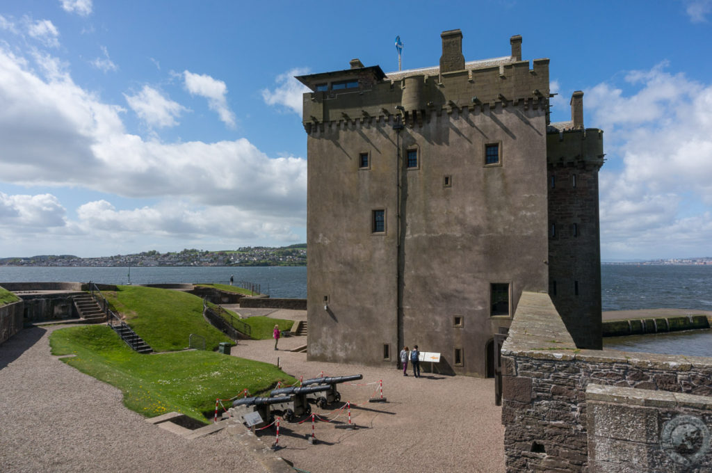 Broughty Castle, Broughty Ferry, Angus, Scotland